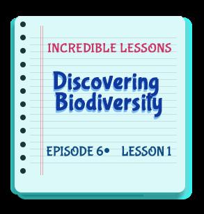 Discovering Biodiversity Episode 6 Lesson 1